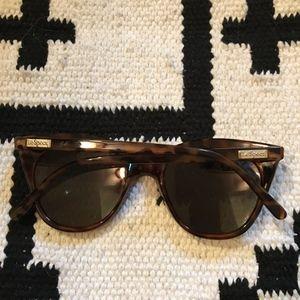 Le Specs Accessories - Le Specs Halfmoon tortoiseshell sunglasses